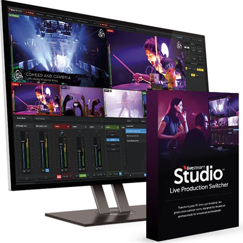 Livestream Studio LIVE switcher streaming