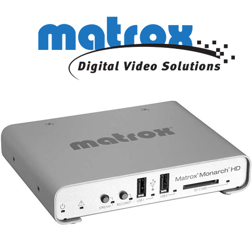 "Matrox Monarch HD ""all-in-one"" streaming"