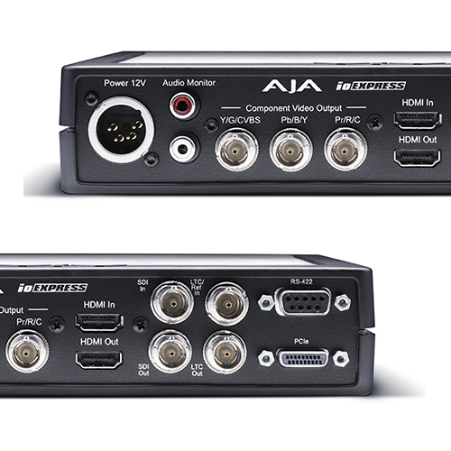 AJA Io Express - HDMI/analog breakout box