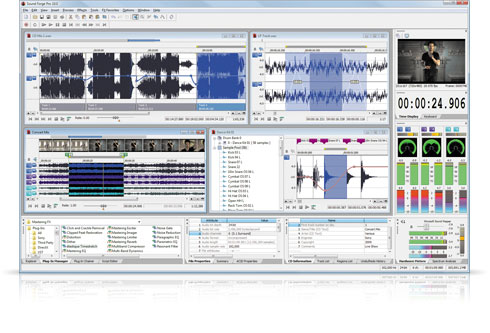 Audio Mixing and Editing to fix audio or apply effects
